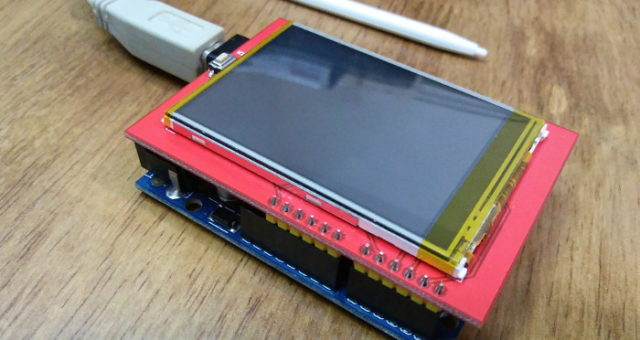 TFT LCD Display shield for Arduino UNO